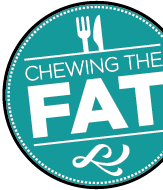 Chewing the Fat logo