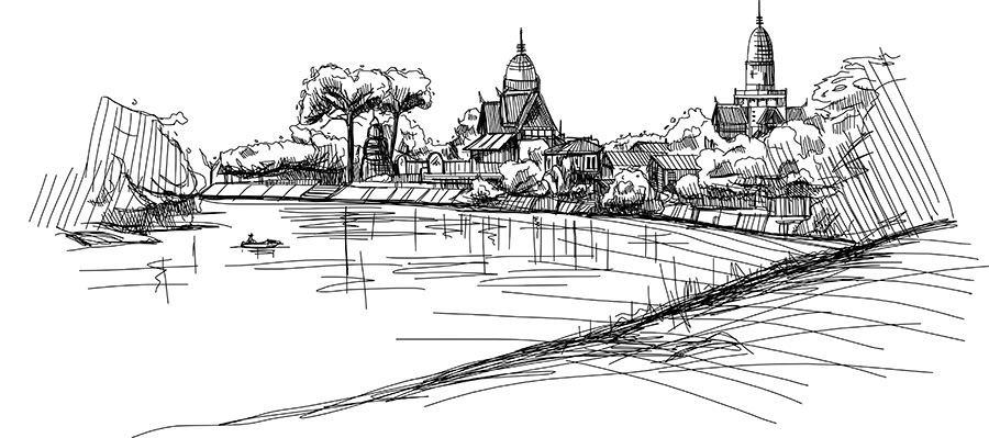 Sunday Sketchup: Time for a Landscape