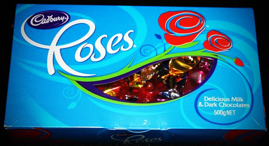 An Aussie export to look forward to: Cadbury Roses!