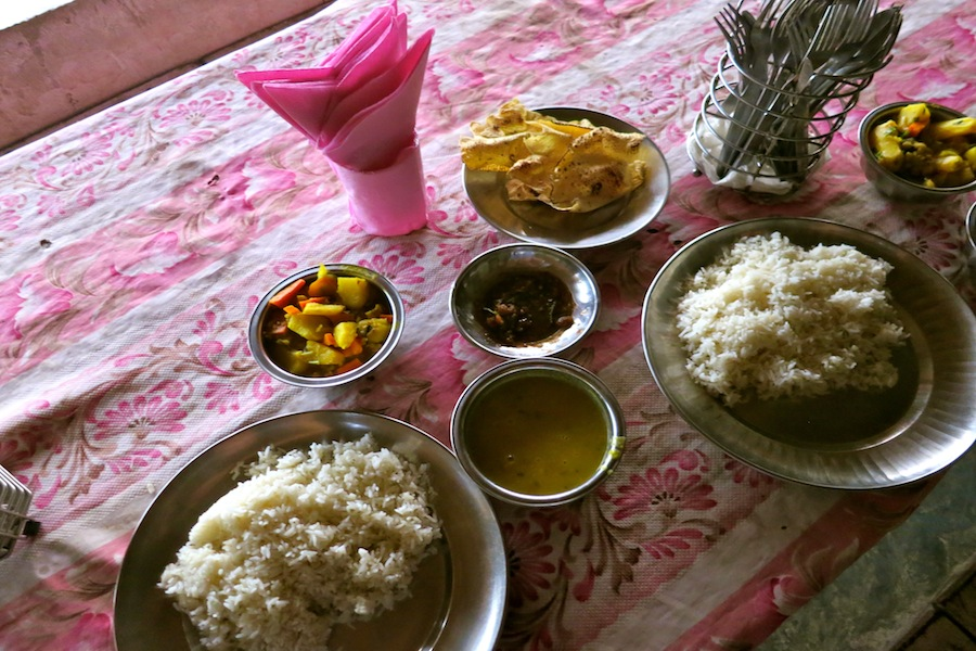 Dal Bhat is *the* traditional Nepalese meal.