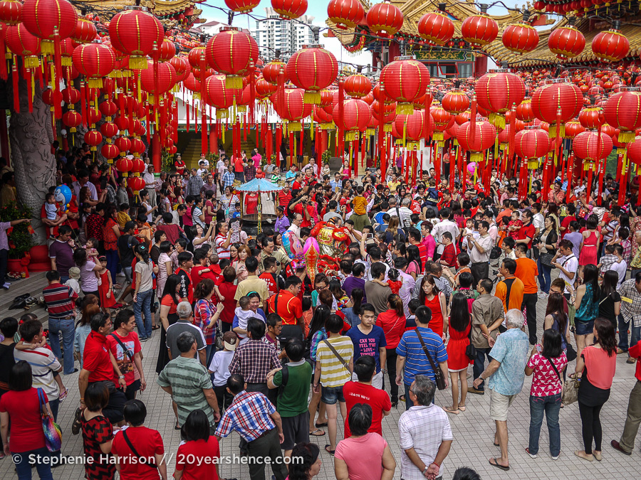 Better off Red: Celebrating Chinese New Year in Kuala Lumpur