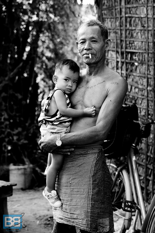 I shot this image of a Cambodia guy after his entire family spent 2 hours helping my friend fix his bike which had broken on a cycle ride outside of Siem Reap. They were so friendly, chatting about their country, asking about our travels and how they love to meet people from all over the world. The whole experience really solidified my love for Cambodia – they were genuinely nice people offering a helping hand, expecting nothing in return.